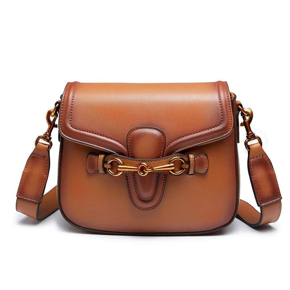 Crossbody Bolsa Saddle Bag Beau-Shoulder Bag para as Mulheres Moda Retro