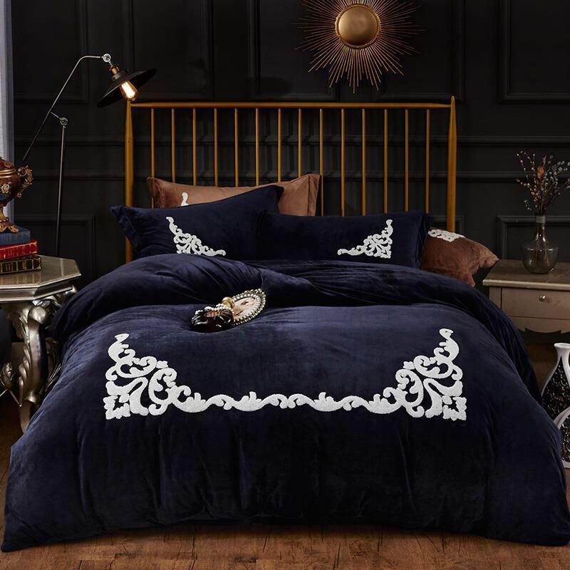 BED edredons conjuntos king size conjuntos de cama de luxo designer conjuntos de literie de luxe parure de lit 88