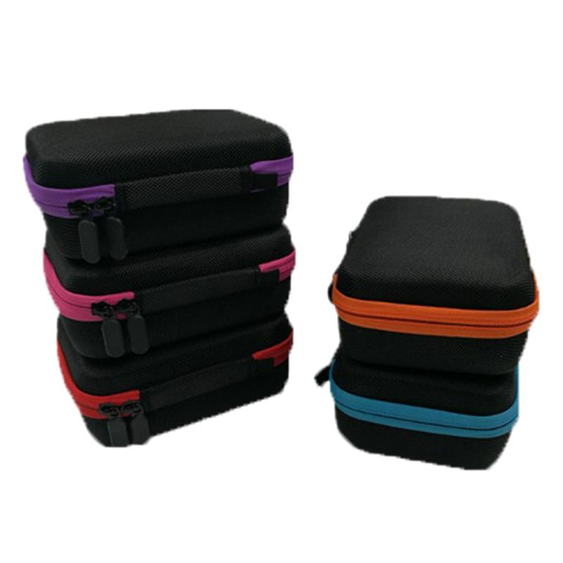Essential Oil Storage Case 15 Compartments Bottles Essential Oil Case Carry Holder 5-15ML Makeup Bag Cosmetic Bags 22*17.5*7CM