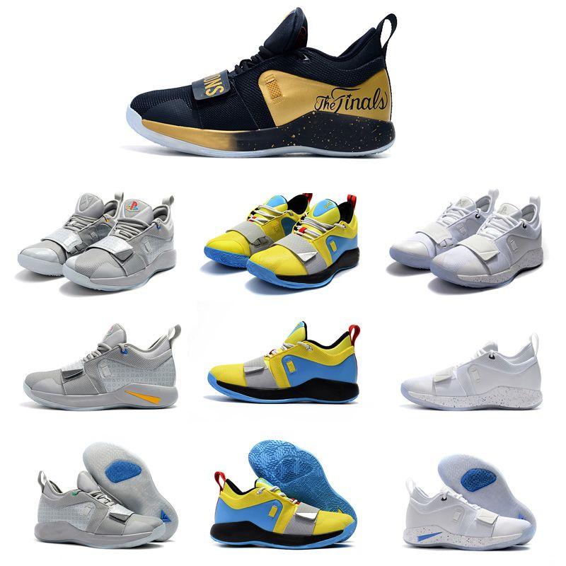 2020 새로운 대학 남자 농구 신발 2.5 옵티 노란색 파란색, 흰색 검은 늑대 회색 아웃 도어 캐주얼 편안한 스포츠 신발 신발 사이즈 40 (4)에