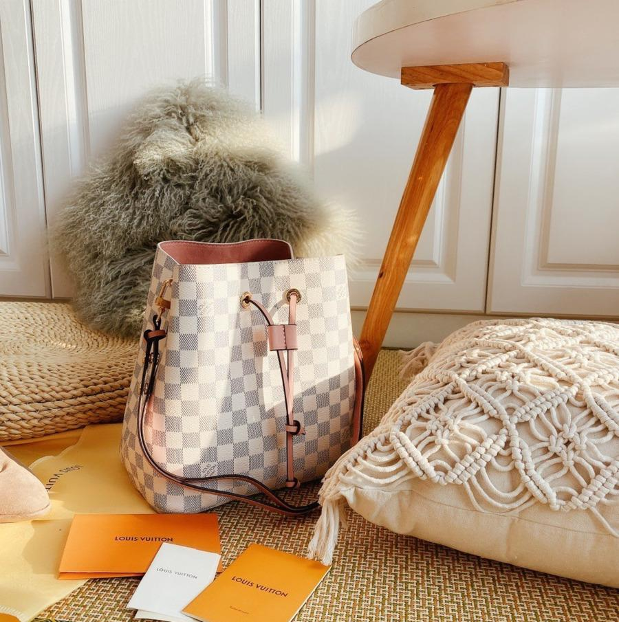 Frauen Schulter Mode Europa Vereinigte Staaten Verkaufen Klassische Trendy Bucket Bag 012904 Geneigte