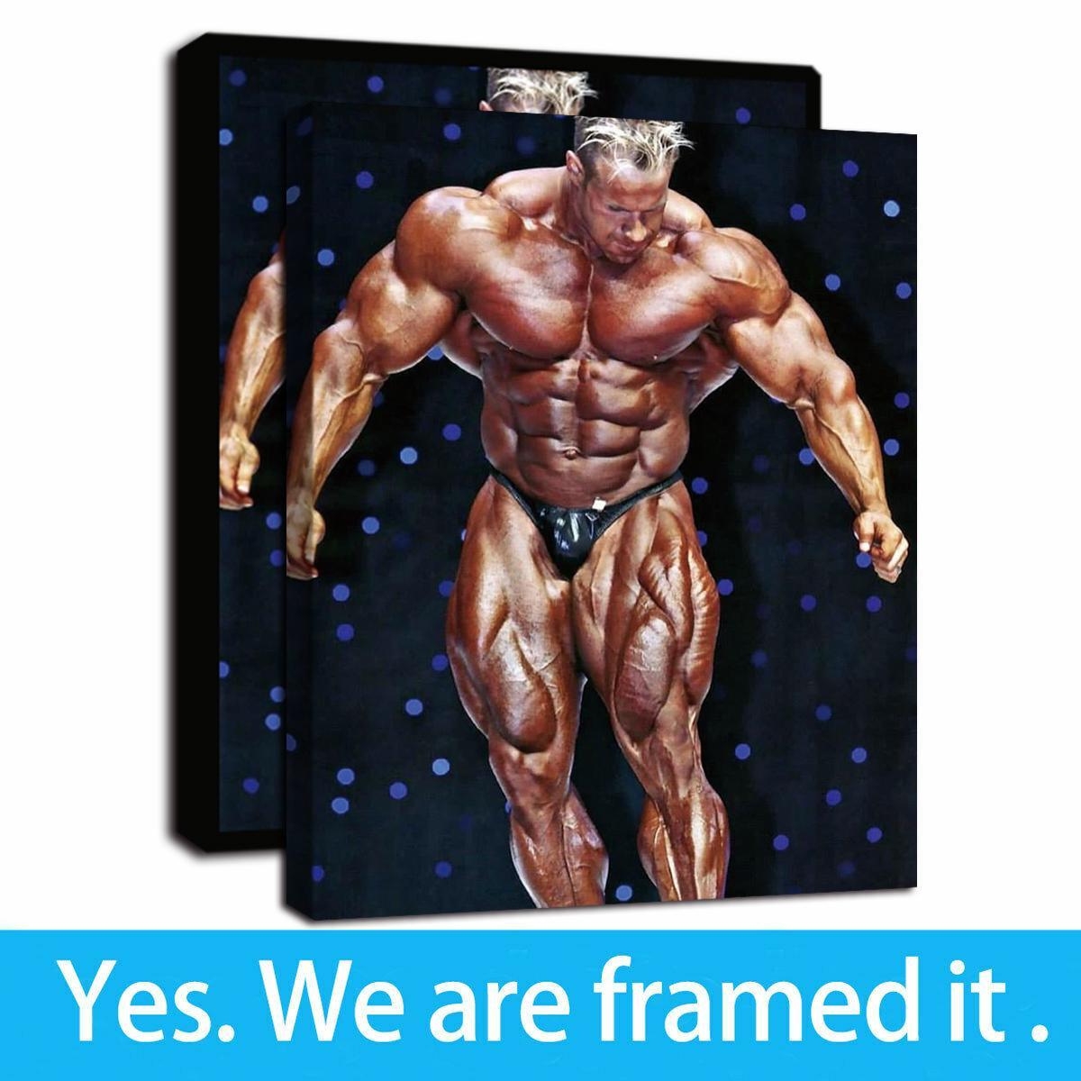 Ilustraciones capítulo Jay Cutler - IFBB Bodybuilder muscular de pinturas de retrato al óleo de impresión en lienzo pinturas de arte de la pared para la decoración del hogar