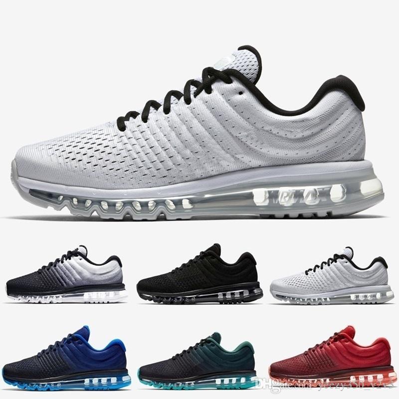 2019 Drop Shipping +2017 Новые поступления мужчин Женская обувь Sneaker Черный Белый 2016 Высокое качество Спортивные кроссовки США Sz 5.5-11
