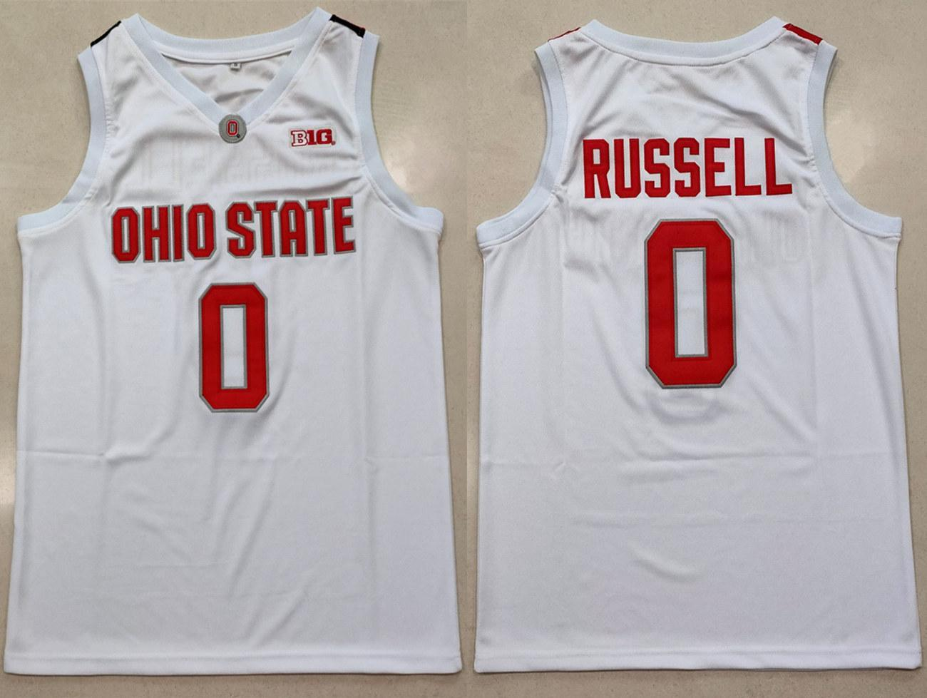 d angelo russell ohio state jersey