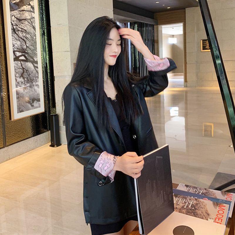 Kadınlar Blazers ve Ceketler Kore tarzı Gevşek Sonbahar ve Kış Yeni Stil Moda Casual İngiliz-Style Kış Giyim Kadınlar
