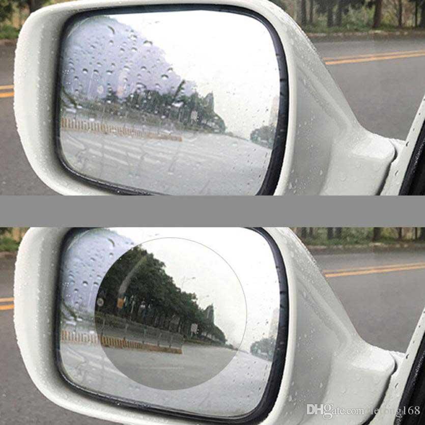 자동차 안티 워터 미스트 필름 안티 안개 나노 코팅 방우 백미러 창 보호 필름