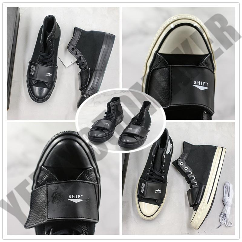 2019 окрестности Hi Moto Taylor 70s 19FW high street парусиновая обувь Chuck Joint пара Женская обувь повседневная спортивная обувь Chaussures с коробкой