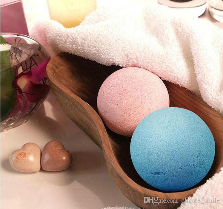 Dropshipping 10g Natural Bubble Bath Bomb Ball Essential Oil Handmade SPA Bath Salts Ball Fizzy Christmas Gift