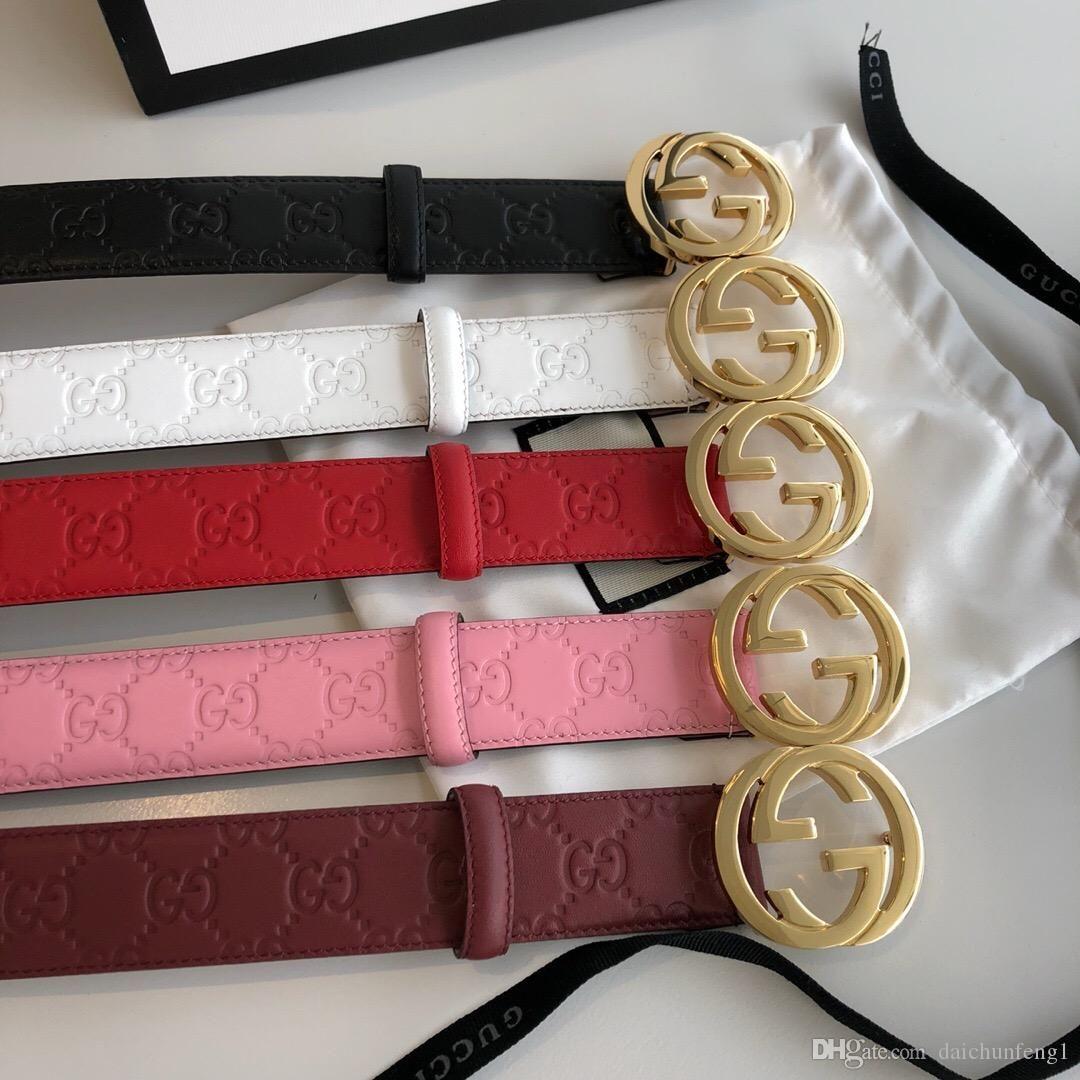 la moda 3,0 cm de ancho mujeres de la lona de plata hebilla de oro de la correa con las correas de la caja para mujer cinturones de envío libre de 370543