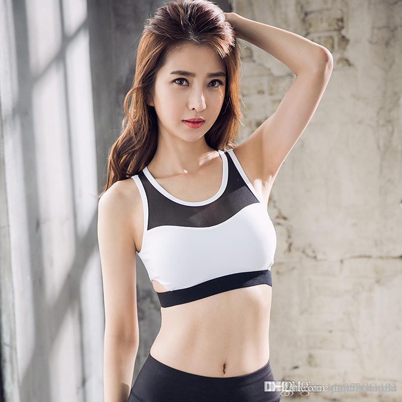 nouveau yoga Sous-vêtements femmes vêtements femme gilet de haute intensité arrière de beauté creux anti-choc soutien-gorge sous-vêtements de course réunis formation