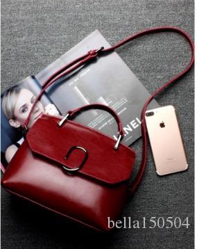 Bolsos de marca de calidad superior de cuero genuino bolsos de diseñador bolso de mano de lujo ds bolsas Bolso bandolera individual de la vendimia Bolso bandolera de señora