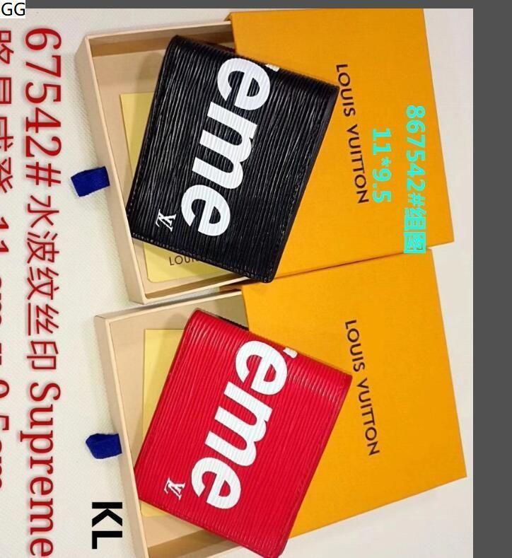 ES9 envío 2020 cartera de cuero genuino bolsillo para los hombres casual Tarjeta de corto masculino monedero de la manera libre de las carpetas para los hombres sin caja E2W1