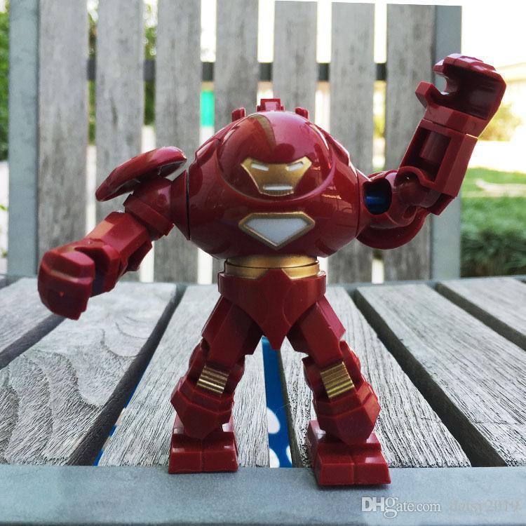 7 centímetros Homem de Ferro Hulk Buster Ação 0181 Toy Presente de Natal