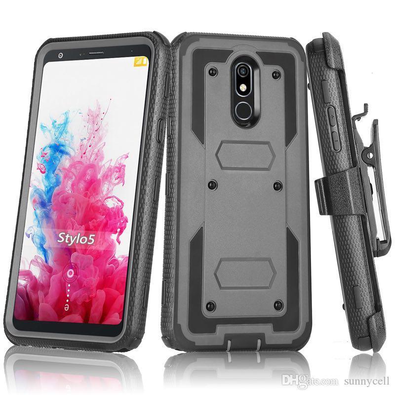 For Samsung S10 E S9 S8 S7 S6 EDGE PLUS Heavy Duty Shockproof Holster swivel Belt Clip Rotatable Kickstand Defender Cover CASE