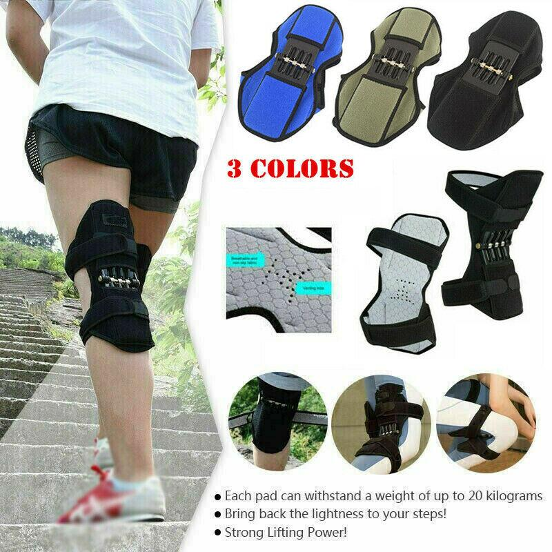 1Piece Power Knee Stabilizer Pads Lift Joint Support Powerful Rebound Spring Force Support Knee Pad Dropshipping