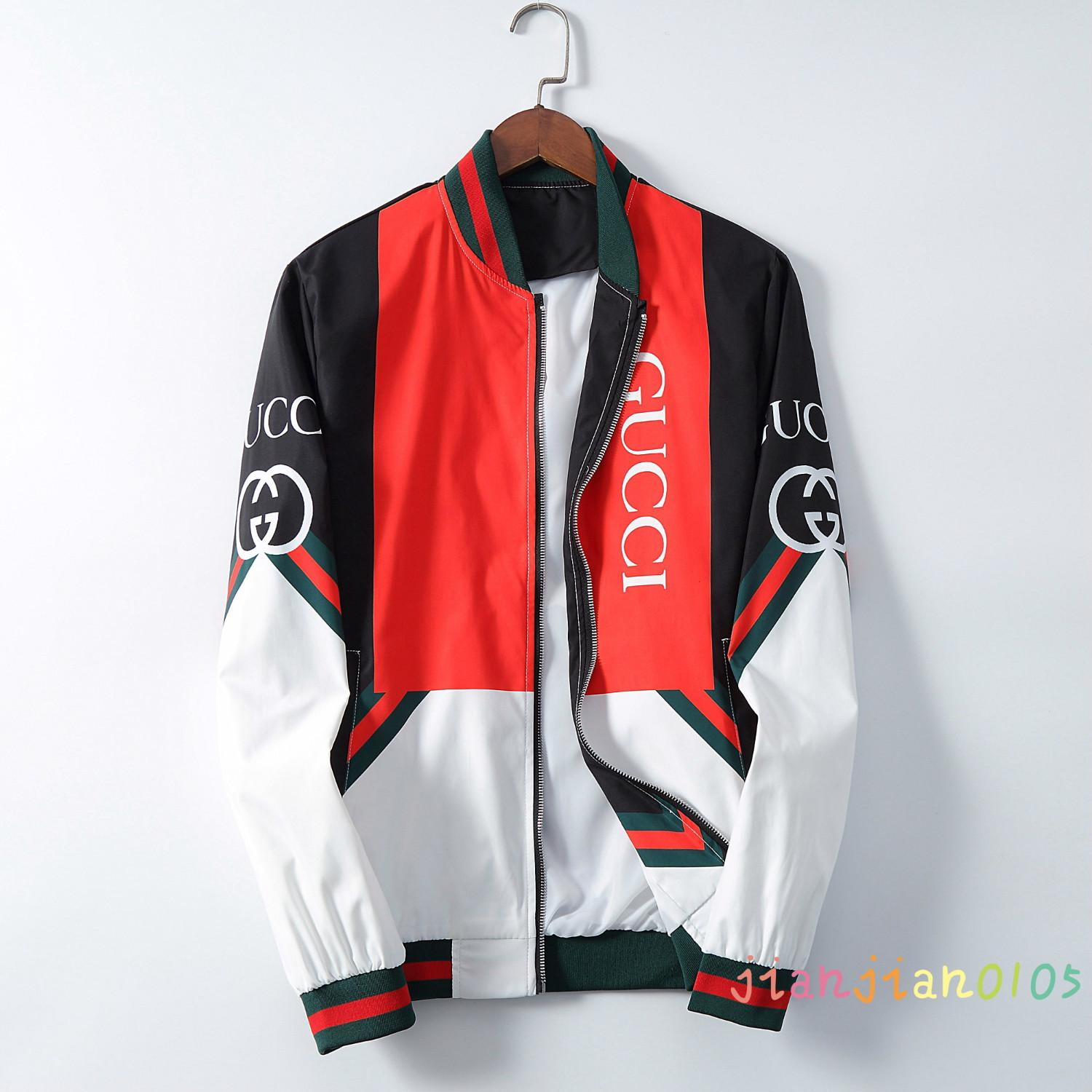 European and American men's clothing 2020 fashion new men's sports casual jacket top youth baseball collar Korean high-end jacket G1718