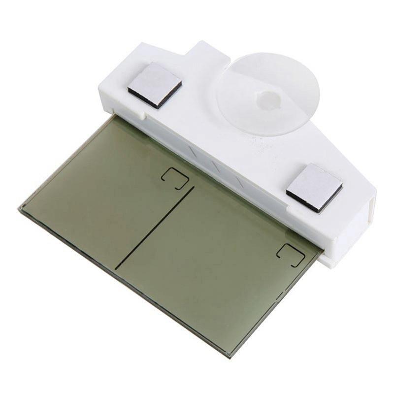 العرض الرقمي ميزان الحرارة شكل السقف المصاص مصمم الرئيسية في الهواء الطلق في الأماكن المغلقة الإبداعية H208H LCD ميزان الحرارة الساخن بيع HHA1032