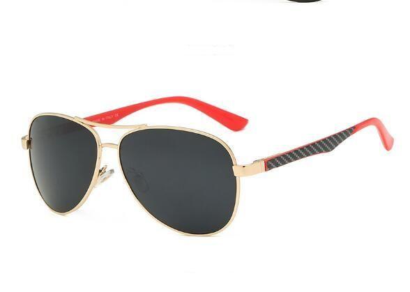 Nuovi occhiali da sole di tendenza di modo metallo rospo specchio Occhiali da sole uomini e donne d'affari gli occhiali da sole classici selvatici