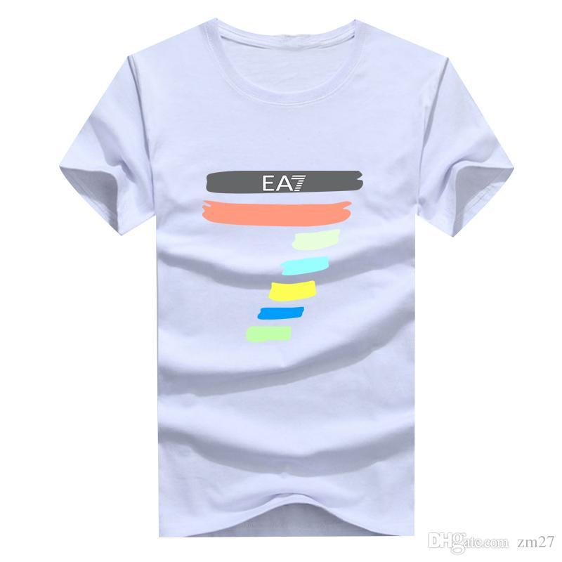 Designer Männer und Frauen Graffiti T-Shirt Hip-Hop-Shirt-Marke für Männer T-Shirt Baumwolle ursprünglicher Designer Unterschrift Punk T-Shirt plus Fett Größe