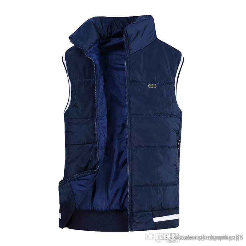 Vest Men New Stylish Autumn Winter Warm Sleeveless Jacket Army Waistcoat Men's Vest Fashion Casual Coats Mens Windproof Jackets