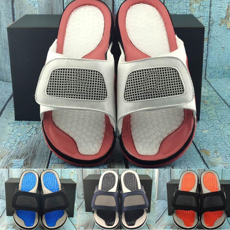 2020 Großhandel IV 4 Metallic Designer Strand für Frauen-Mann-Basketball-Sandale Basketball Pantoffel