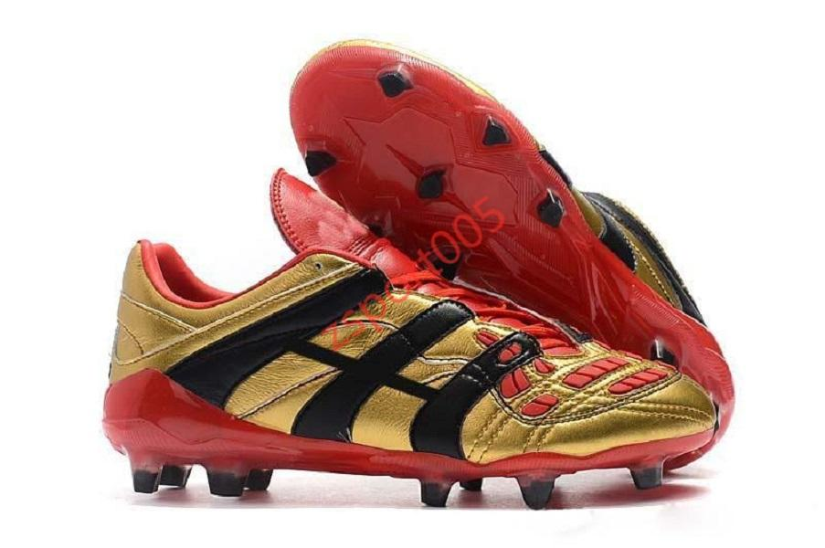 adidas Predator Sapatos Top Mens Qualidade Predator Football Dream Voltar 98 Predator Accelerator Champagne Predator Designer Botas de Futebol Futebol Sneaker