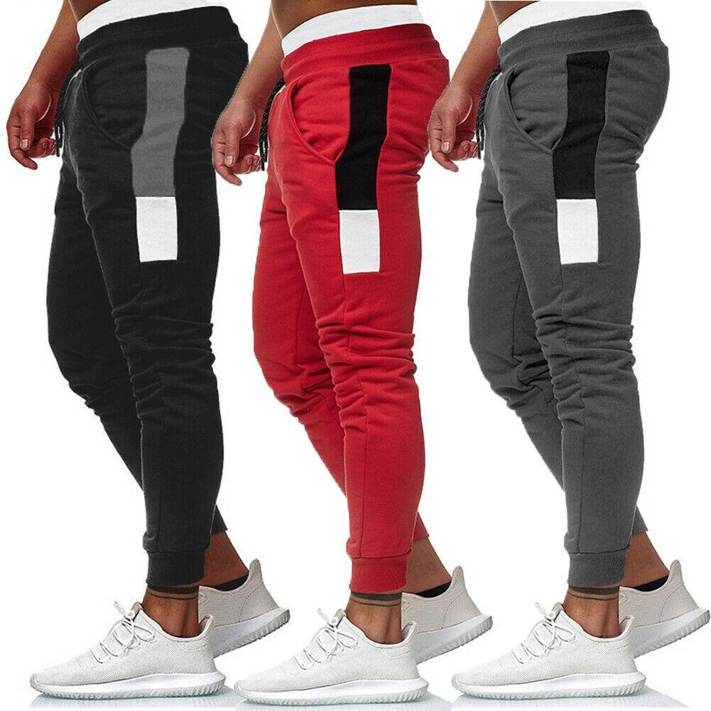 Мужчины Брюки Hip Hop Гарем бегуны Брюки Новые Мужские Брюки мужские Joggers лоскутное Брюки тренировочные брюки размер M-3XL