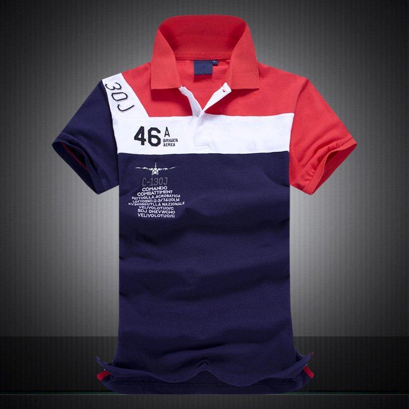 All'ingrosso-Plus Size grandi dimensioni degli Stati Uniti di marca degli uomini di marca casual Polo Cotone Moda Ralph