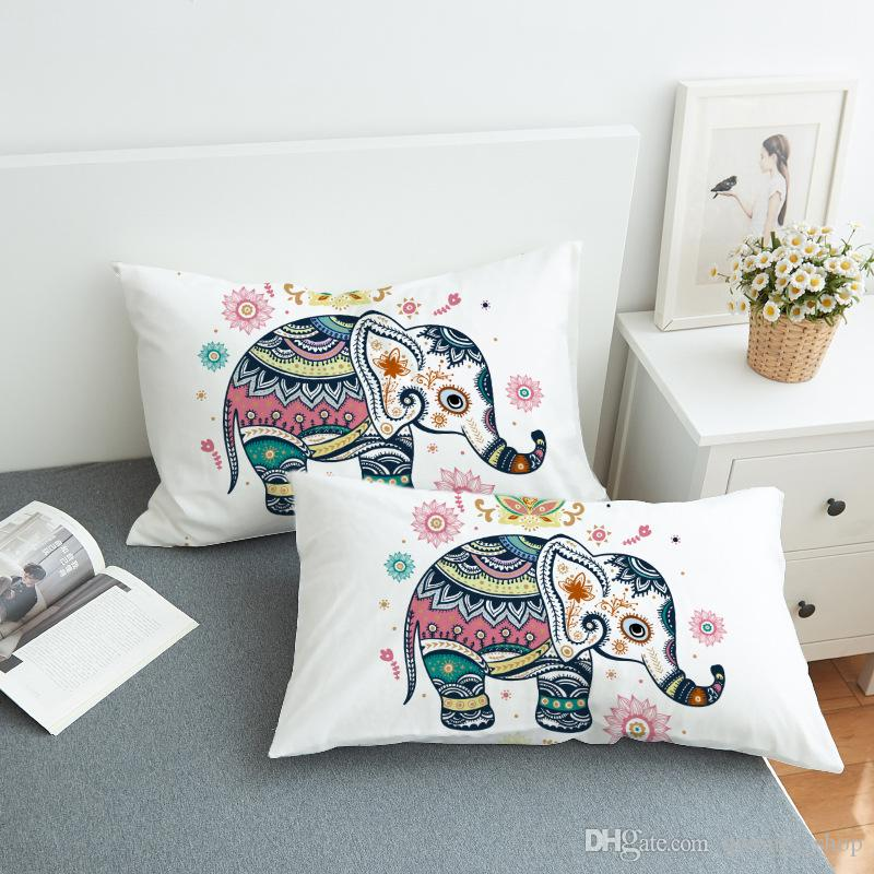 Pillowcase Bohemian pillowcase sofa pillow a variety of colors a variety of styles optional simple home pillowcase 5 Colors