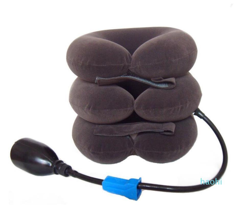 도매 풍선 목 지원 목 트랙션 편안한 견인 마사지 의료 치료 장치 피트니스 액세서리