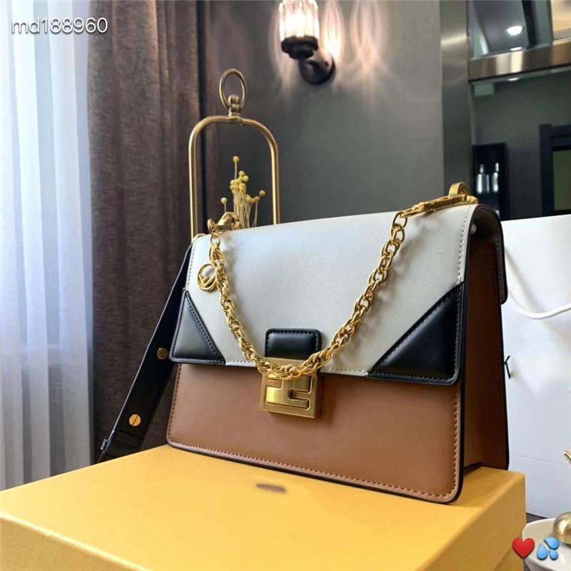 Designer handbags FD brand crossbody messenger shoulder bags chain bag good quality pu leather tote clutch single shoulder bags