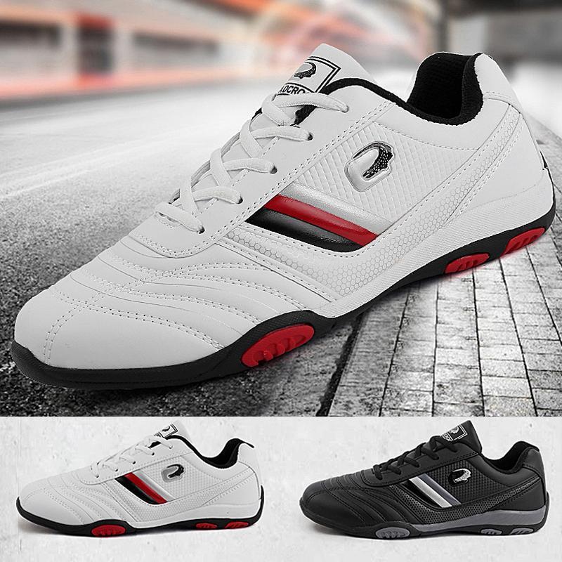 Antiderrapante Nailless TCow musculares leves resistentes ao desgaste sapatos respirável diário Outdoor Sports sapatos de golfe dos homens Grande EUR38-45