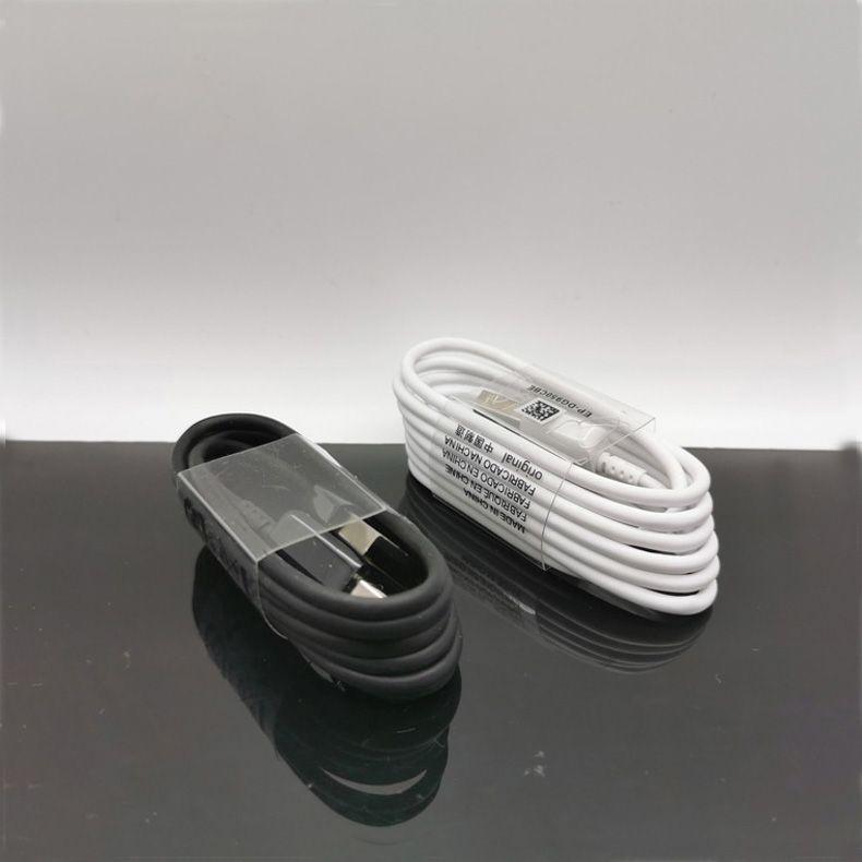 A + Qualität 1m 3FT aufladenaufladeeinheits Synchronisierungs-Daten USB-Kabel Kabeltyp C Micro-V8-Typ-C Für Galaxy S8 S9 S9 + Plus S10 Hinweis 8 9 Adnrod Phones MQ2k