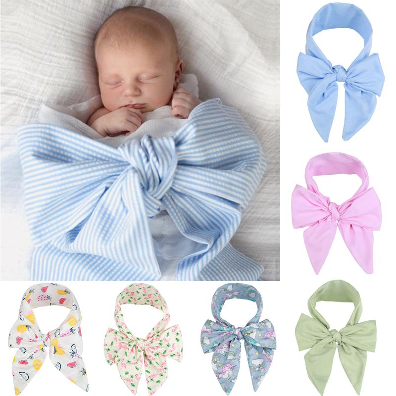 Emmababy 2020 New Brand New Born Baby Photography Props Big Bow-knot Decors Unisex Girl Boy Bow-knot Photography
