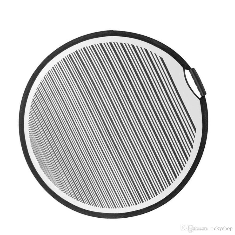 80 cm Rodada Listra Flexível Dobrável PDR Forro Refletor Côncavo Painel de Projeto Portátil Ferramenta Para A Reparação Do Carro Da Porta Do Corpo Raspagem E H