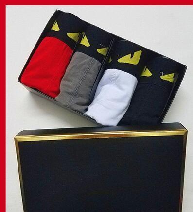 EJC9 A3 Designer Brand Mens pugili sexy Fashion Designer I pugili Breve Maschio Cueca maschio Boxers mutande IPIX