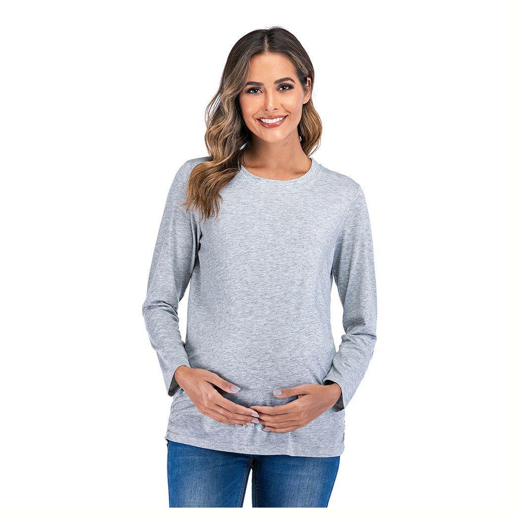 Mama in der Herstellung Schwangerschafts-Mitteilung Hemd Danksagungs-T-Shirt Schwangerschaft Nette T Shirts Schwangerschaft Aufdecken Top Embarazo T
