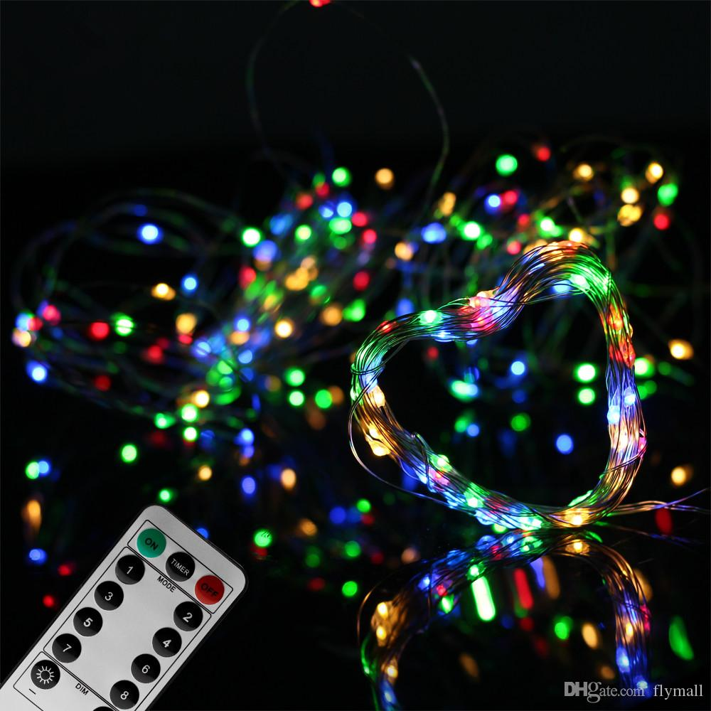 LED String Lights USB / Battery Operated 5m 50LED / 10m 100LED Lighting String Outdoor Indoor Decoration Christmas Wedding Party Light
