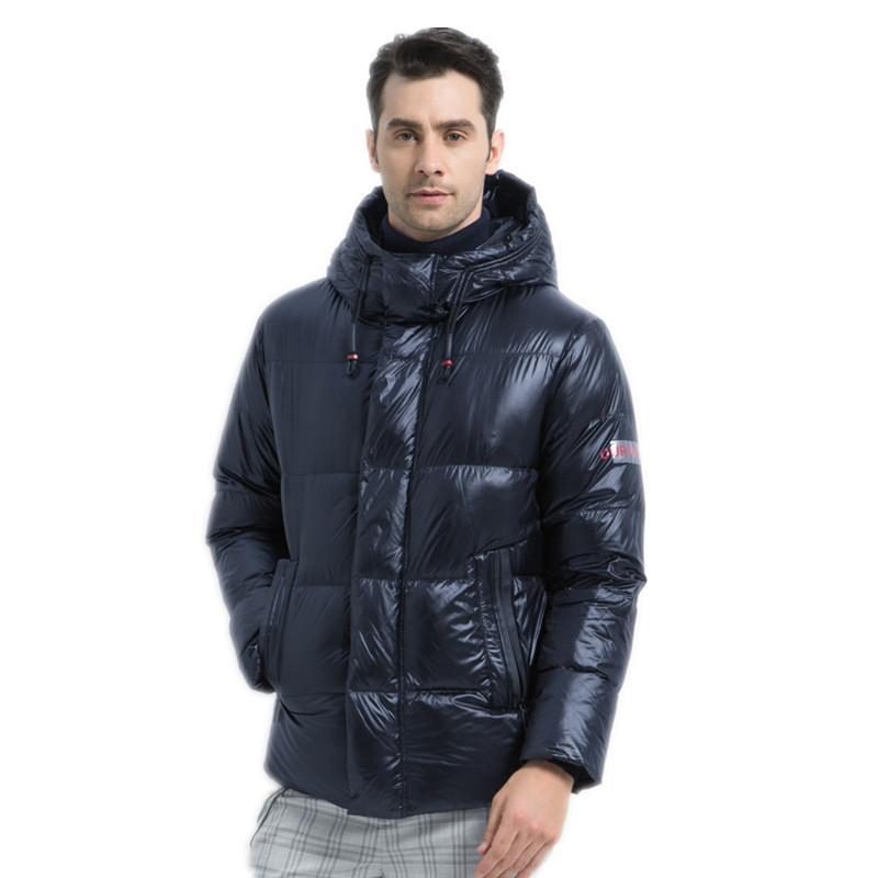 Brand New Winter Men's Down Jacket Elegante maschio Down Coat Thick uomo caldo Abbigliamento Abbigliamento Brand Uomo Abbigliamento Dimensioni 46-54