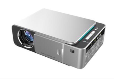 Nuovo proiettore originale T6 1280x720 LED 3500 lumen Proiettore a corto raggio Correzione trapezoidale USB HDMI VGA AV Home Theater 5pcs DHL