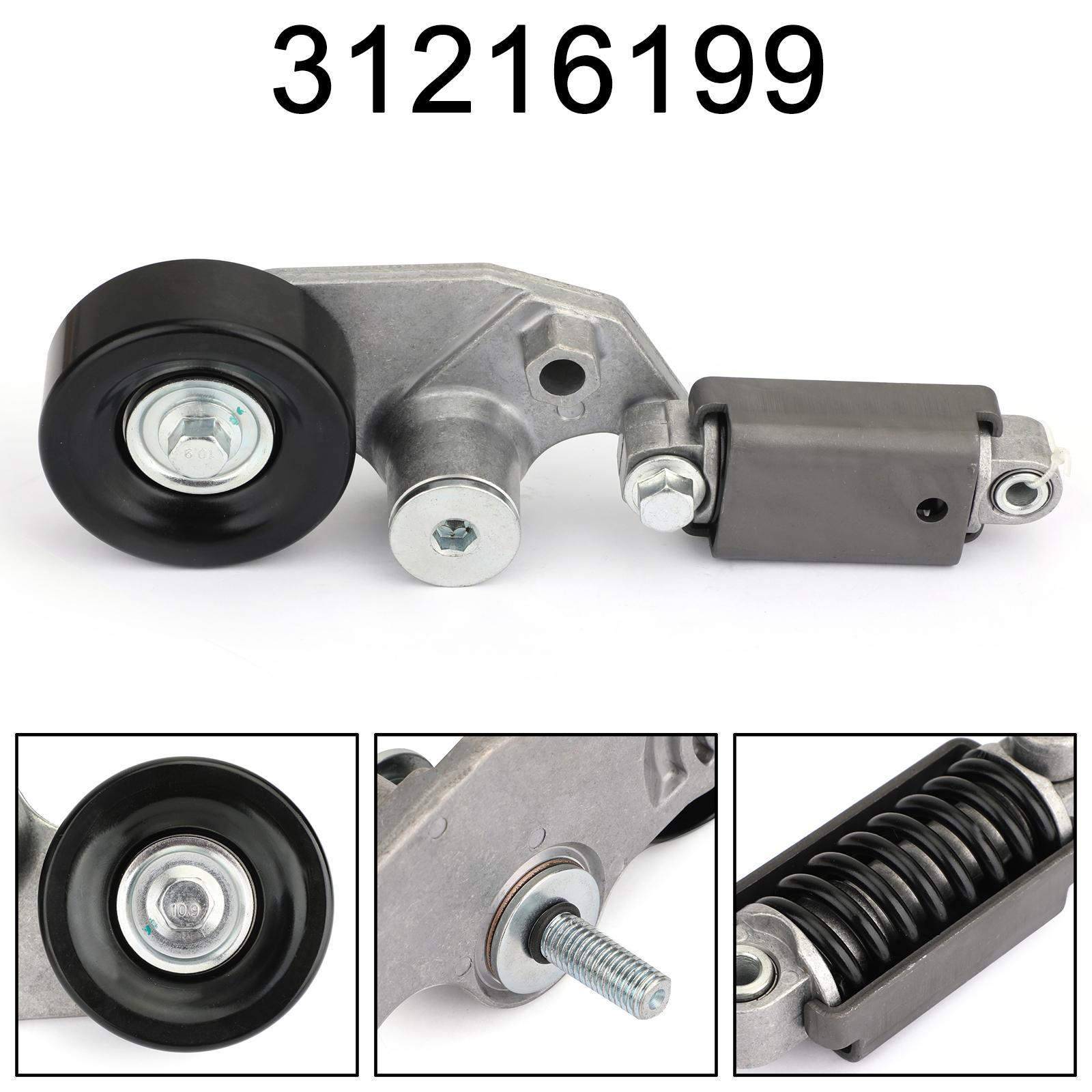 Areyourshop Car New Accessory Belt Tensioner For Volvo S80 Xc90 2005 -2011 31216199 15657148 Car Accessories Parts
