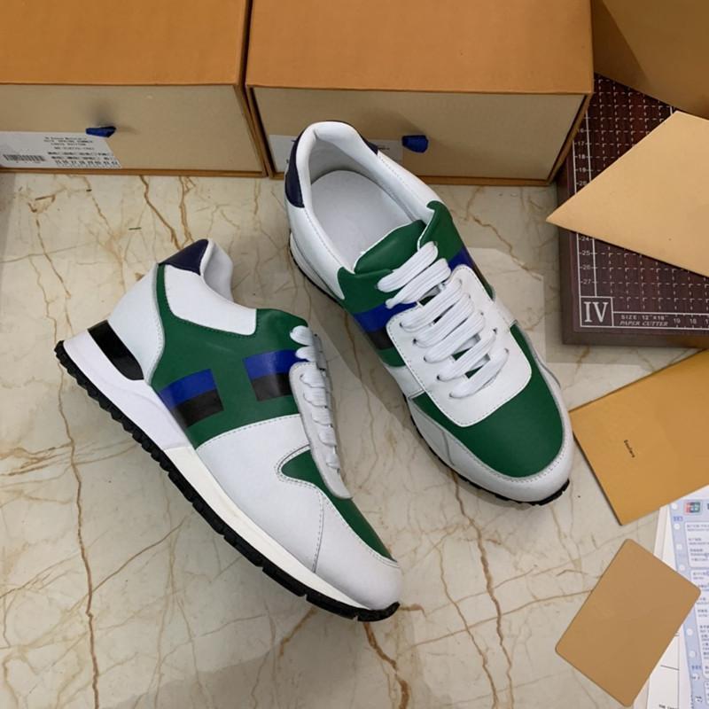 Louis Vuitton LV shoes Herren-Freizeitschuhe Chaussures Schuhe Skateboarden orange Weizen Frauen Männer High Low Cut Trainer Platform Sneaker