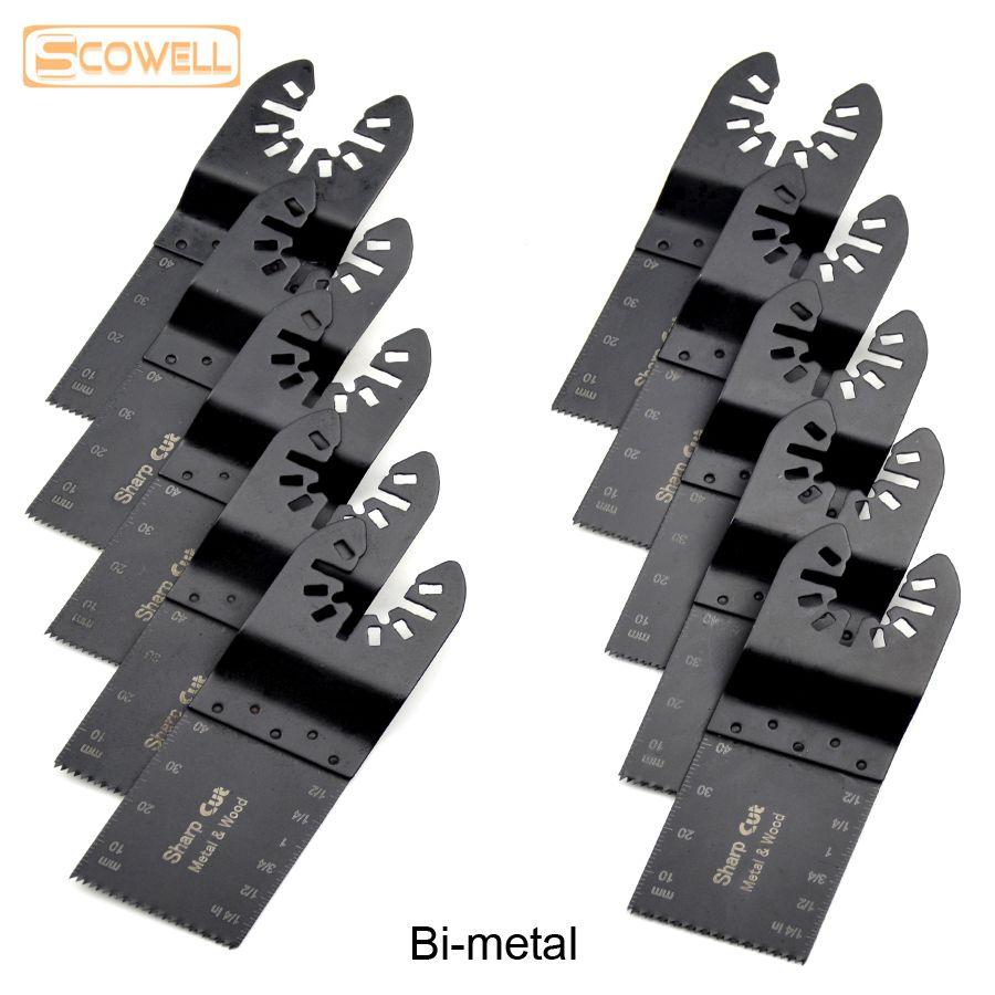 Cuchilla de sierra oscilante 17 unidades color negro Multimaster