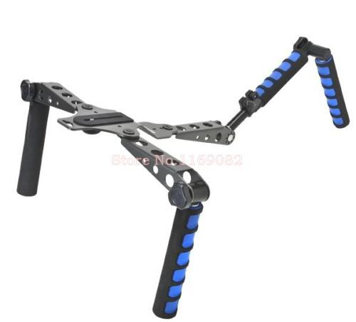 새로운 DSLR foldable Rig Movie Kit를 Freeshipping 카메라 마운트 Shoulder Mount Spider Steady Rig