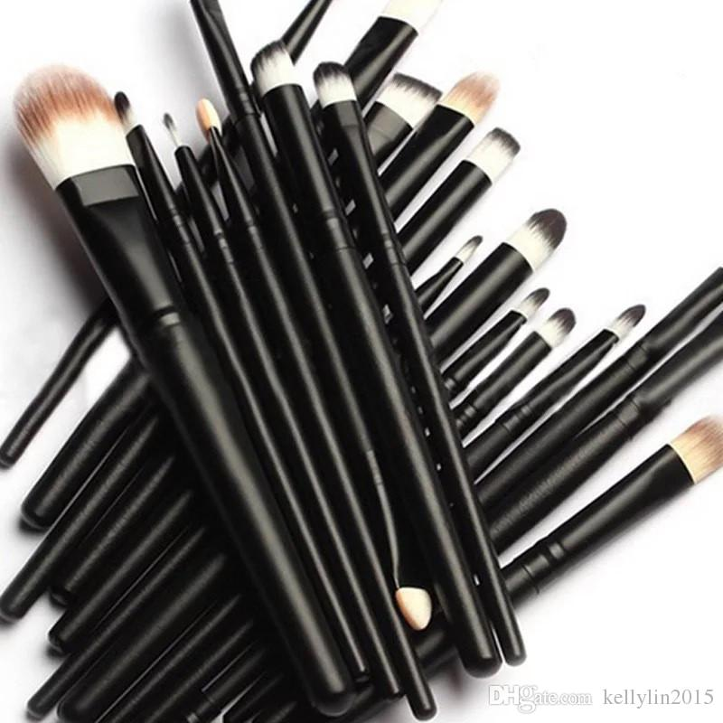 Eye Makeup Brushes Set 20pcs Professional Eyeshadow Eyes Eyebrow Lip Eyeliner Eyelashes Make up Brush Kit Cosmetic Tools