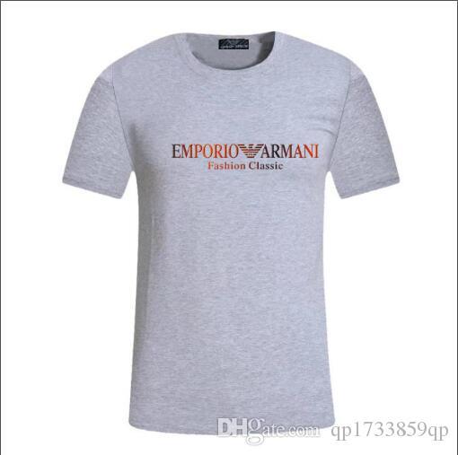 2020 Carta geométrica do monograma Impresso Moda T-shirt do verão respirável T Simples Casual Homens Mulheres Rua manga curta