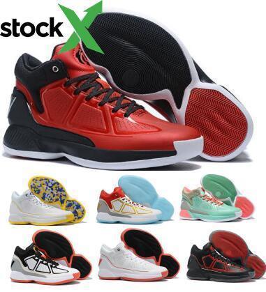D Rose 10 10s di pallacanestro delle scarpe da tennis Derrick Rose X 10 MVP Bounce nero uomo alto uomini 2020 nuovo arrivo Stivali autentici Shoes