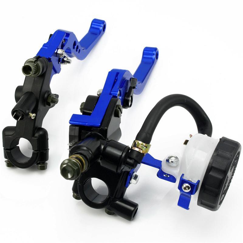 Universal 7//8/'/' 22mm Front Brake Clutch Master Cylinder Reservoir Levers