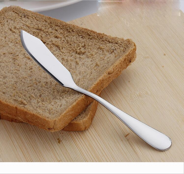 Designer Tous couteau à beurre en acier inoxydable multiusages fromage spatule gâteau au beurre confiture couteau maison cuisine