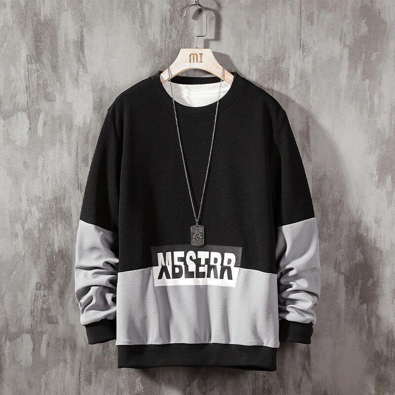 Los diseñadores de los hombres cuidadosamente diseñados suéter letra impresa El nuevo otoño y el invierno de la marca de los hombres para dirigir la tendencia de la moda de los hombres